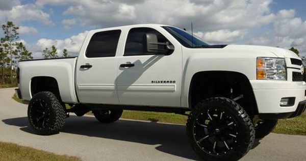 Custom 2012 Chevrolet Silverado 1500 Pickup Lifted 22x12 35
