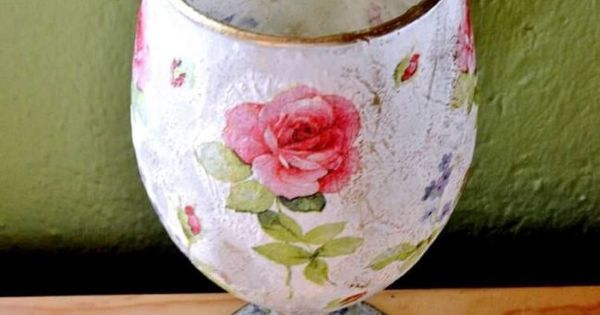 decoupage step by step instructions