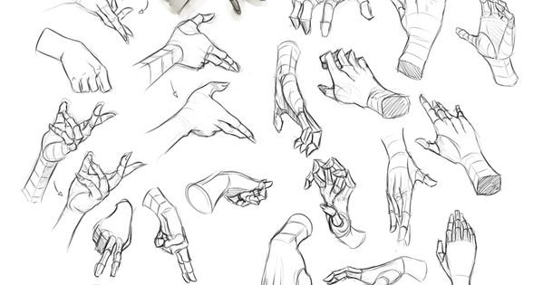 Female Hand Study 1 by ~Dhex on deviantART www.facebook.com/...