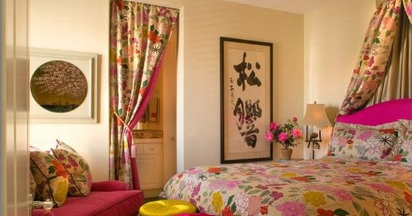 Bright Colors Japanese Theme Bedroom Pinterest Asian Inspired Bedroom Colorful Bedding
