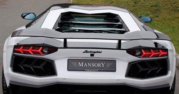 Another epic Lamborghini Mansory for you.