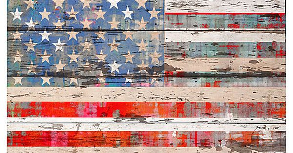 American Dream - Reclaimed White Barn Wood by Parvez Taj | Rypen