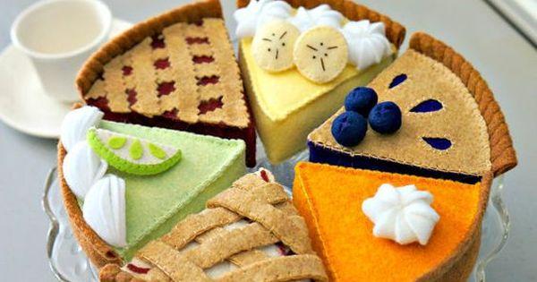 Pin by sarina steyn on felt food | Pinterest | Pies, Felt ...