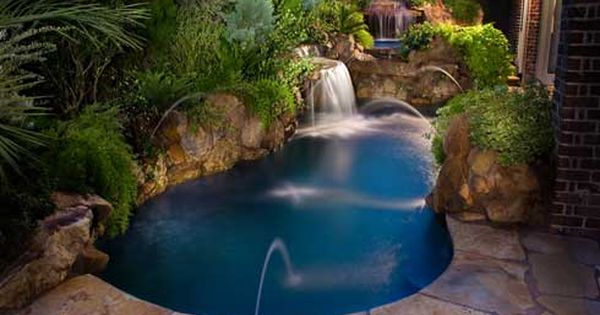 Smallbackyarddesignswithpool10 Small Backyard Designs With Small Backyard Pool Designs small back yard