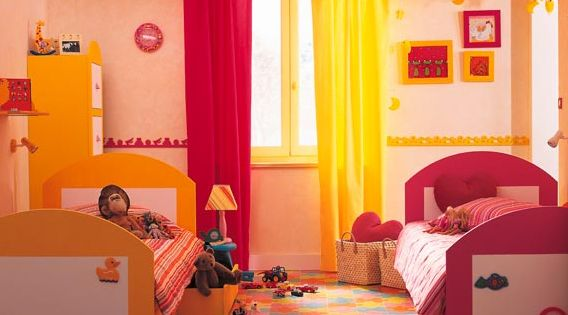 Dormitorios compartidos para ni o y ni a dormitorios - Dormitorios infantiles mixtos ...
