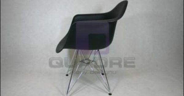 Krzeslo Eiffel Insp Dar Eames Czarne Promo 20 3273587180 Oficjalne Archiwum Allegro Eames Chair Comfortable Office Chair
