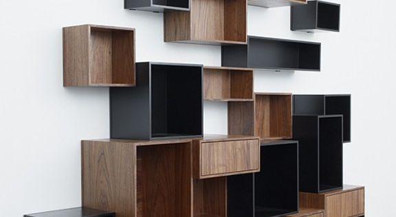 Tag res de rangement modulables design cubit par mymito shelves shelving - Etageres cubes modulables ...