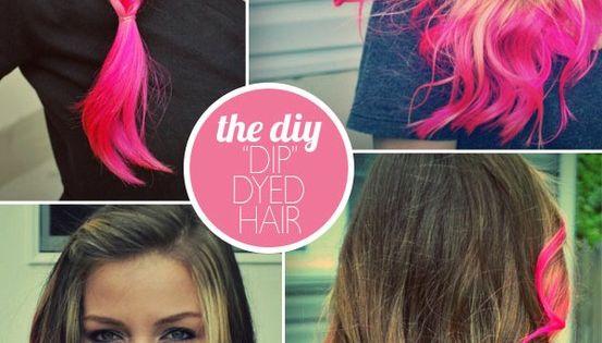 Dip Dye Hair Styles