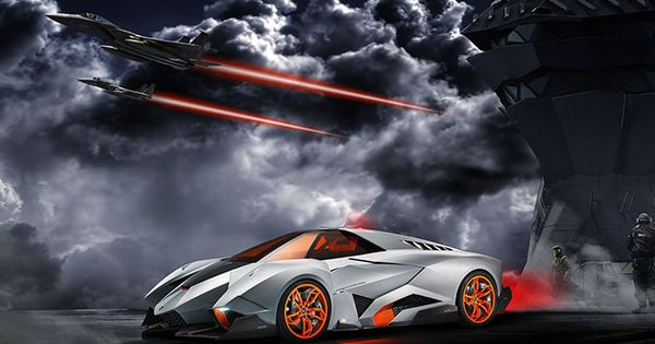 The Lamborghini Egoista The Maddest Bull Ever