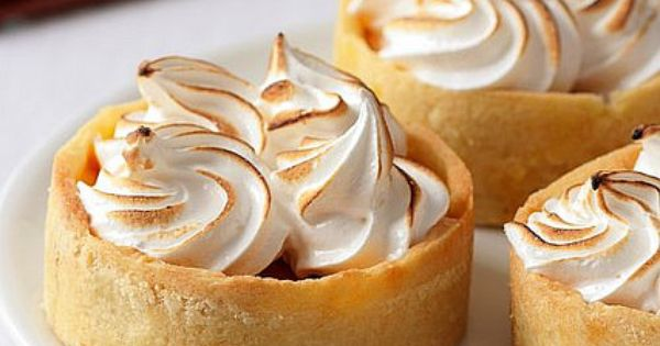 Pumpkin Meringue Tartelettes | (For my sweet tooth) | Pinterest ...