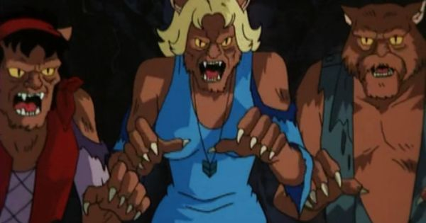 "The werecats from ""Scooby-Doo on Zombie Island""."