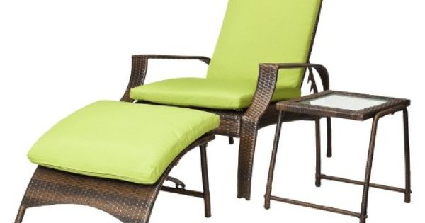 Belmont 3 piece brown wicker patio wicker lounge set for Belmont brown wicker patio chaise lounge