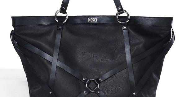 Diesel Diaper Bags : Diesel women s bags ss the bondage bag leather and