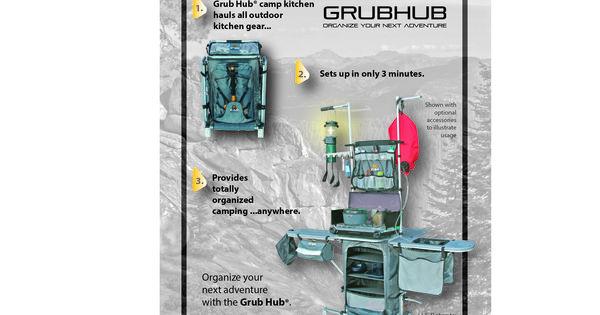 Grub Hub Camp Kitchen Ad For Wilderness Unlimited | Grub Hub Ads | Pinterest