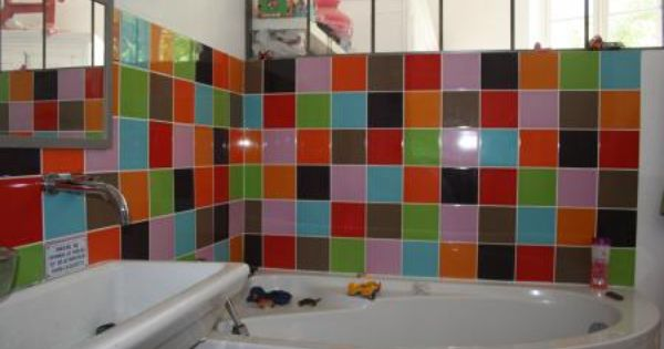 Salle de bain enfant glouglou on se lave pinterest - Faience salle de bain enfant ...