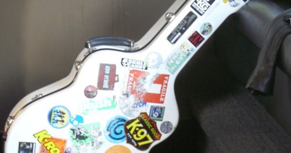 cool guitar case stickers i want pinterest guitar case guitars and instruments. Black Bedroom Furniture Sets. Home Design Ideas