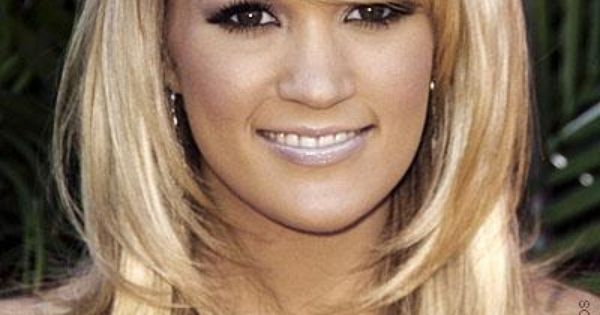 Medium Hair Cuts For Women Carrie Underwood Long Thick Hair