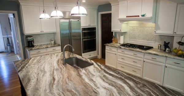 Best Fantasy Brown Quartzite Modern Kitchen Kitchen 640 x 480