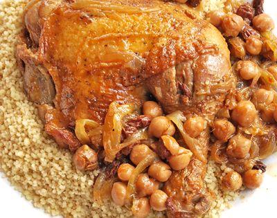 Les gourmandises d 39 isa tajine de poulet aux pois chiches - Cuisiner des pois chiches ...