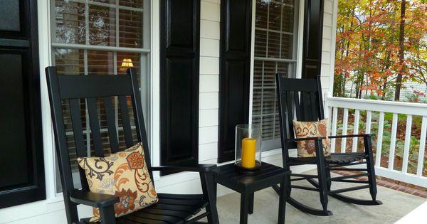 Rocking Chair Front Porch  Decor ideas  Pinterest  Porches, Rocking ...