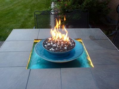 Brian Johnson Fire And Water Feature Fire Pit Decor Fire Glass