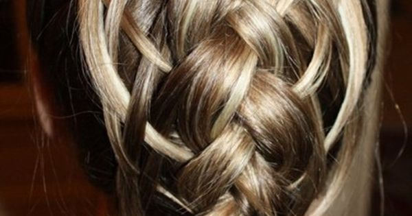 really cool braided hair