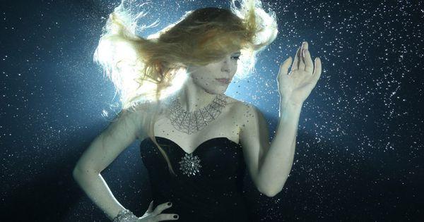 underwater fashion photographed with Basia Zarzyckas