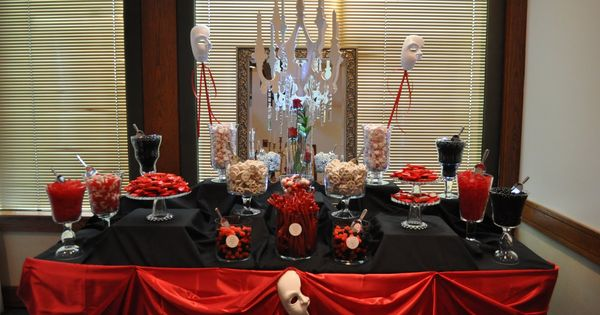 chloe 39 s inspiration halloween candy buffet candy display party candy and halloween parties. Black Bedroom Furniture Sets. Home Design Ideas