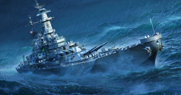 Storm Missouri World Of Warships Battleship 2k Wallpaper Hdwallpaper Desktop In 2021 World Of Warships Wallpaper Battleship Warship World of warships wallpaper 4k