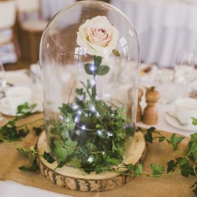 23cm Glass Dome Available To Buy At Www Weddingmall Co Uk Cheap Wedding Table Centerpieces Rustic Wedding Centerpieces Wedding Table Centerpieces