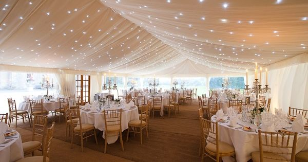 Based in Somerset, Abbas Marquees provide beautifully decorated bespoke tents, marquees and