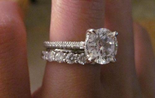 Michael B Paris Engagement Ring