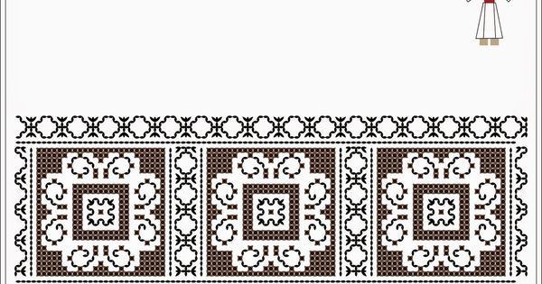 Romanian traditional motifs moldova neamt vaduri viisoara semne cusute folk embroidery - Beautiful romanian folk motifs ...