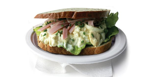 Delicious Egg Salad Sandwich. | Eggs! | Pinterest | Egg Salad ...
