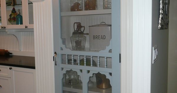 Screen Door Pantry In My Farmhouse Kitchen. I WOULD SO DO