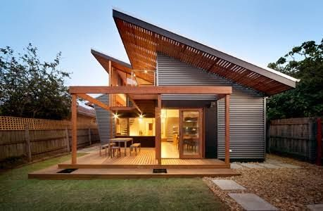 Timber Cladding Skillion Roof Google Search House Exterior Skillion Roof Roof Design