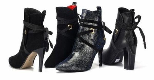 Karllo Botki Z Fantazja Skora 6554753831 Oficjalne Archiwum Allegro Stiletto Boot Heels Stiletto