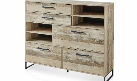 Ramina Garderobenset 4 Teilig Material Dekorspanplatte Used Style Braun Anthrazit In 2020 Schuhschrank Holz Garderoben Set Schuhschrank