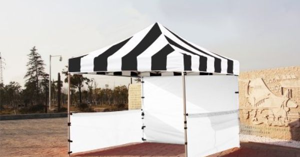 Eurmax Premium Ez Up Canopy Booth Bonus Awning And 4weight Bag 10x10 Feet Black White By Eurmax 449 95 Eurmax P Canopy Frame Garden Patio Furniture Canopy