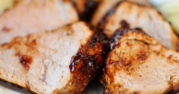 Sweet and Spicy Pork Tenderloin Recipe via Mel's Kitchen Cafe