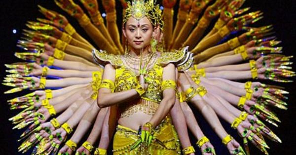 Image result for china disabled people's performing art troupe