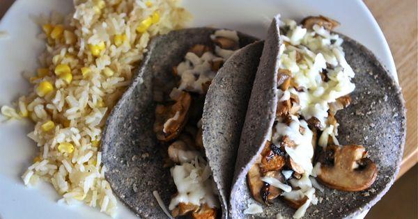 chanterelle tacos | Gourmet Buffet | Pinterest | Tacos, Taco Rice and ...