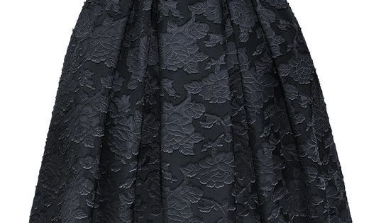 Conscious Collection. I like the cut of the dress, and the black.