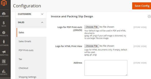 How to change PDF Invoice Logo, Shippment logo MagePlaza - invoice logo