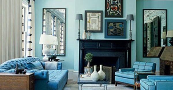 Pack azul turquesa uno de los colores de moda pintura - Pintura azul turquesa ...