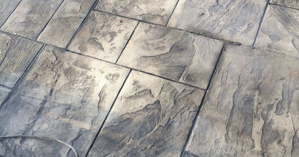 Decorative Stamped Concrete Grand Ashlar Stamp Italian
