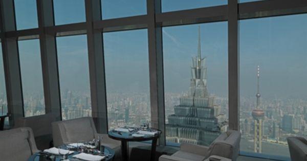 View From Park Hyatt In Shanghai Shanghai World Financial Center Kpf Kohnpedersenfox Tony Chi Park Hyatt Shanghai Shanghai Hotels Park Hyatt
