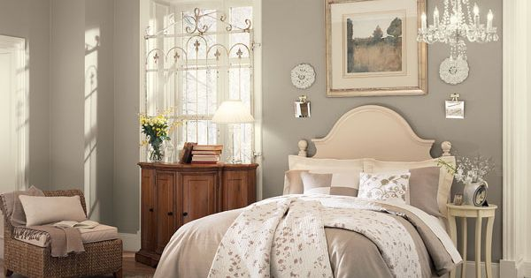 Gray, Benjamin moore and Slaapkamers on Pinterest
