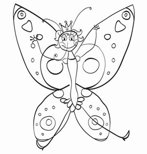 Princess Butterfly Worksheet Education Com Butterfly Coloring Page Animal Coloring Pages Giraffe Coloring Pages