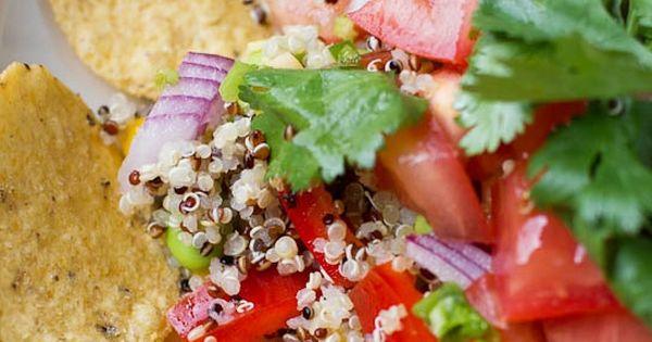 Quinoa Nachos with Pico de Gallo | Recipe | Pico De Gallo, Nachos and ...